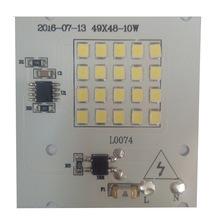 免驱动模组Ac高压线性LED光源板LED超薄投光灯12350W贴片高压灯板