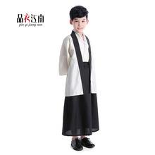 日本小男孩幼儿童宝宝传统和服武士服拍照写真古装表演出服舞台装