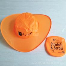 旅行折疊帽子 時尚尼龍折疊牛仔帽 戶外廣告帽定制企業logo
