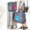 韩版旅行收纳包出差旅游飞机行李包大容量衣物收纳袋一件代发