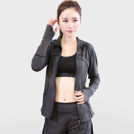Autumn and winter new yoga clothes three-piece female Slim breathable ladies jacket trousers sports running fitness clothing suit