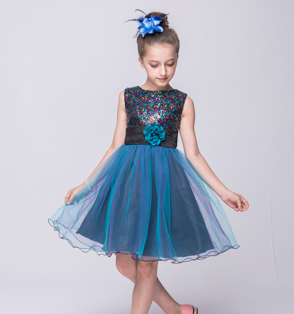 Baby Girl Party Dress Children Frocks Designs Wedding Party Dresses ...