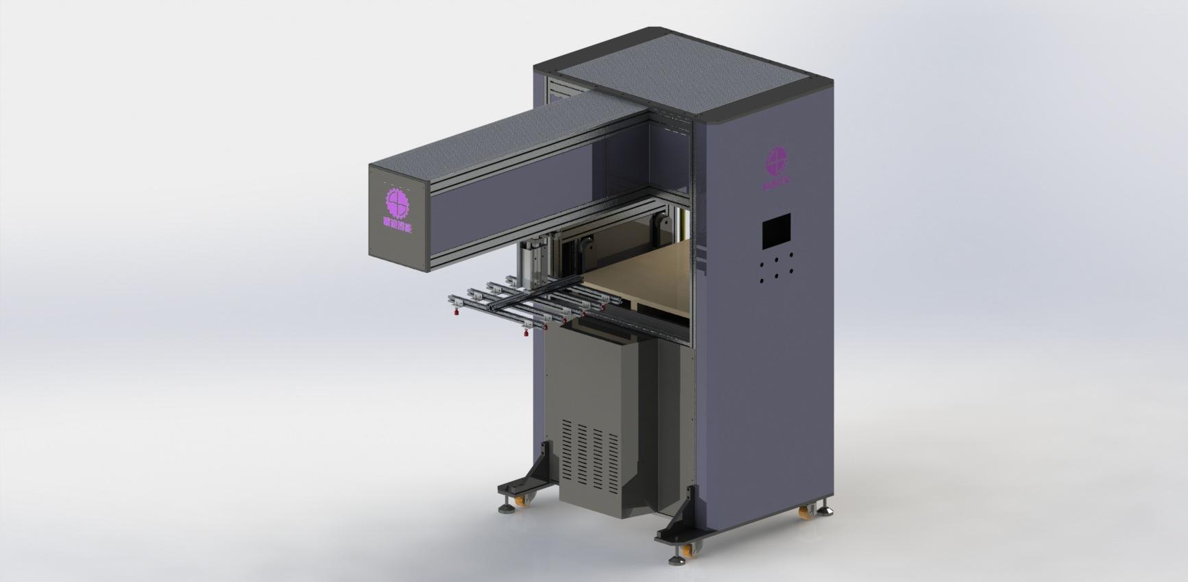 片張取料自動堆疊機械手