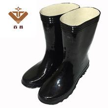 上海双钱橡胶雨鞋 男女士老式中筒防滑水鞋工作劳保雨靴厂家批发