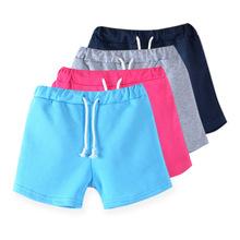 Mùa hè phiên bản Hàn Quốc của bé trai màu kẹo và quần áo trẻ em quần bé gái quần short giản dị 3722 Quần âu
