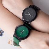 Đồng hồ đôi nam nữ, kiểu dáng trẻ trung, phong cách Hàn