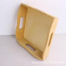 厂家定做多规格实木创意木头托盘 家居桌面装饰品环保披萨托盘