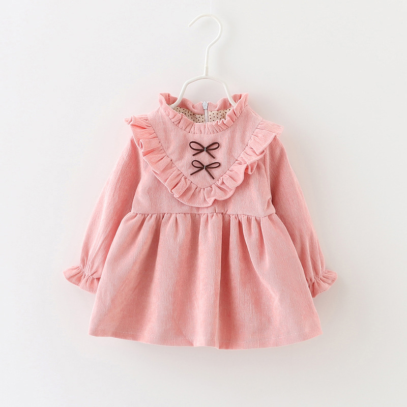 b9bbd4aa9 Toddler Infant Kids Baby Girls Winter autumn Dress Princess Party ...