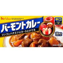 好侍 苹果咖喱调味料-辣味230g盒 日本进口调味酱 餐饮调味品