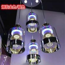 厂家批发led餐厅吊灯门厅灯玻璃灯现代简约餐吊灯4头灯饰批发288