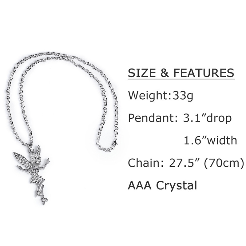 Alloy Korea Cartoon necklace  (Alloy)  Fashion Jewelry NHAS0552-Alloy