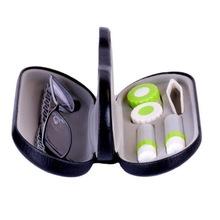 新款WX015正品手工隐形近视眼镜盒男女 创意双用光学眼睛伴侣