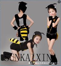 新款兒童螞蟻舞蹈服表演服,兒童動物演出服,六一兒童節表演服裝