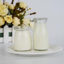 供应布丁瓶透明布丁杯100ml200毫升烘焙模具耐高温玻璃酸奶瓶