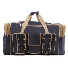 超大容量旅行包手提单肩包旅行袋多功能立体侧袋外袋男女式行李包