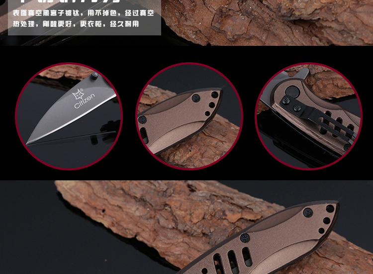 Buy Jeslon Multi-tools Folding Knife Hunting Scopes Stainless Steel Blade Aluminum Handle Survival Camping Knife Multi Pocket Knife cheap
