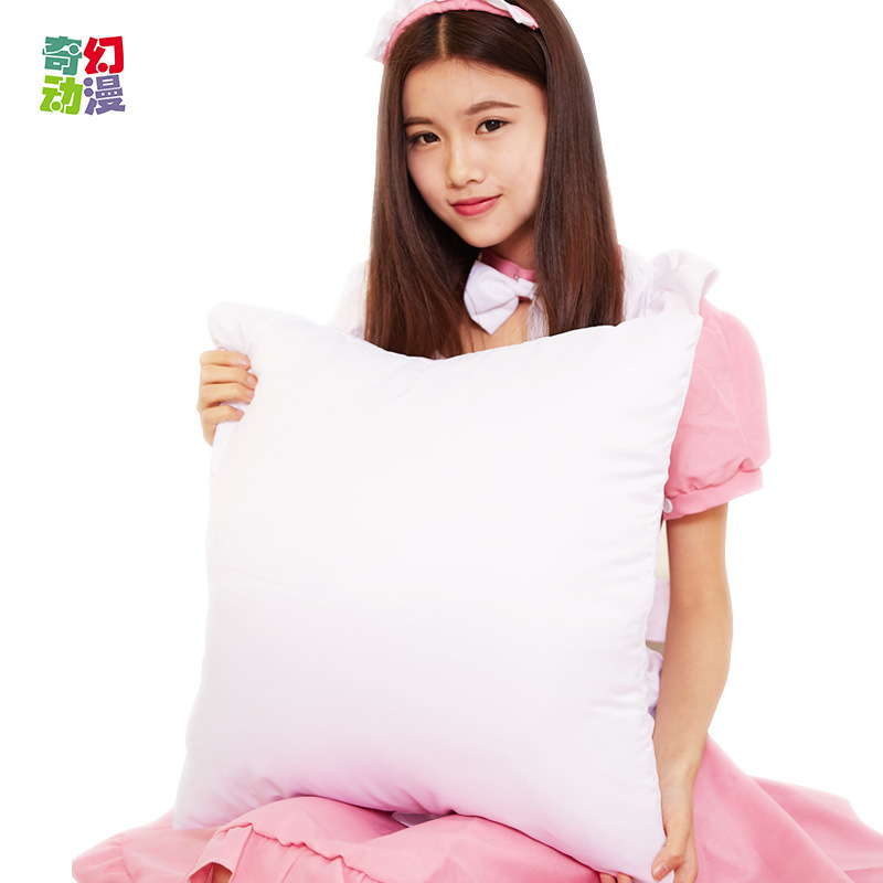 Thermal transfer blank pillows, semi-finished products with core, blank pillowcases wholesale customization, factory direct sales
