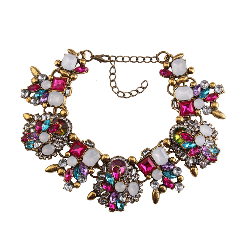 Occident alloy Geometric necklace  color  NHJQ5105
