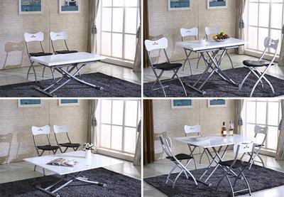 多功能家具 咖啡桌 升降茶几 折叠餐桌 定制餐桌 时尚家居 配件