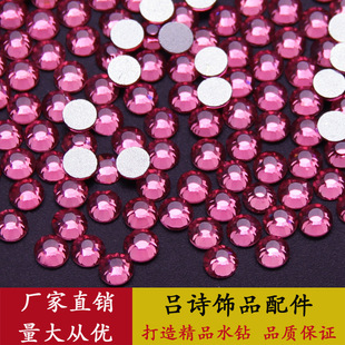 Guomao crystal glass flat-bottomed rhinestones, complete colors and models, DIY mobile phone case beauty nail stickers hot selling