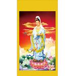 批发宗教神像 销售观音坐莲 观世音菩萨卷轴画像 阿弥陀佛画开光