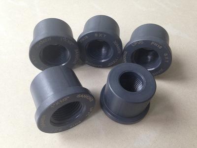 三厘UPVC内牙补芯/内牙阀补芯/PVC内牙接头/国标DIN/内牙直通管件