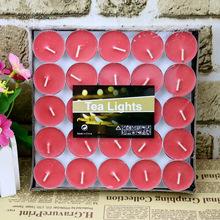 50個裝圓形工藝蠟燭廠家直銷批發創意生日婚慶求婚無煙浪漫