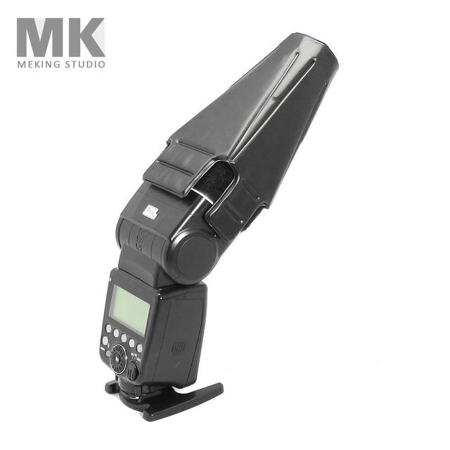 单反相机外置闪光灯束光筒 聚光筒 热靴机顶灯控光柔光罩 束光罩