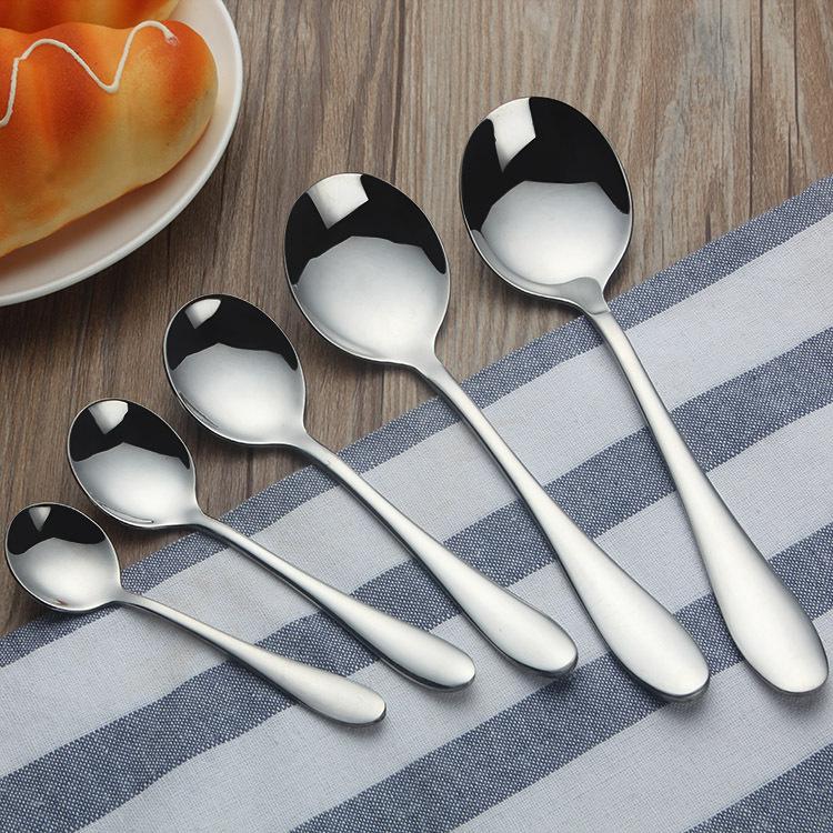 1012系列不锈钢冰激凌雪糕勺日韩勺子咖啡搅拌勺西餐酒店小餐具
