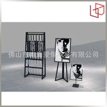 厂家出售展示架金属架子厂家直供地摊皮带货架展示架子皮带展示架