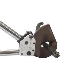 正品長信牌棘輪線纜剪刀大口徑鋼絲繩剪刀J33