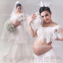 速卖通Ebay2018新款孕妇装孕妇写真服孕味拍照服装影楼孕妇照服装
