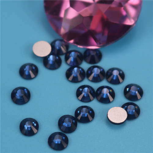 Rhinestones glass flat bottom drill drill DIY mobile phone case beauty nail paste