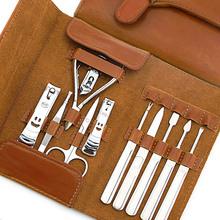 今利指甲刀套装 十一大件高端礼盒修甲套装指甲钳指甲剪美甲  H-1