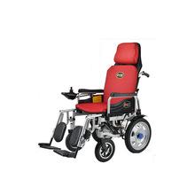 好哥老人電動輪椅車 殘疾人老年人輕便可折疊高靠背代步車鋰電池