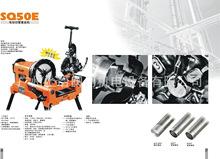 现货供应SQ80D1 3寸螺纹钢不锈钢管电动套丝机攻牙机 虎