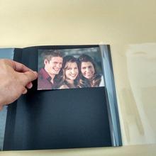 尺寸可定制DIY相册黑卡离型膜粘胶内页 活页替芯纸品本册内页