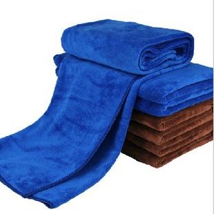 超柔磨绒加厚加绒超细纤维 汽车毛巾 擦车毛巾洗车毛巾160 60