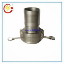 廠家直銷不銹鋼C型軟管快接 油罐車專用優質重型精鑄快速接頭