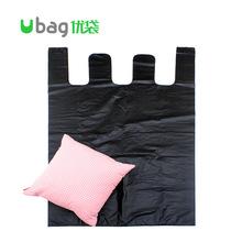 黑色加大号背心塑料袋厂家批发 加厚特大服装包装袋手提式垃圾袋