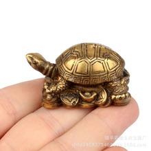 精品乌龟纯铜摆件铜龟装饰品风水摆设把玩小铜件工艺品批发市场