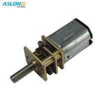12N30低速马达电子锁机器人金属齿智能感应微型直流减速电机3V6V