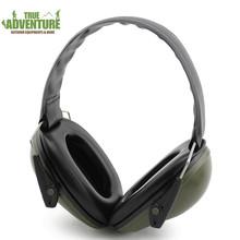 新品户外头戴式防噪音耳机 射击练习战术隔音耳罩  打猎防护用品