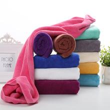 批发 理发店美容院美发专用包头超细纤维3575干发巾加厚吸水毛巾