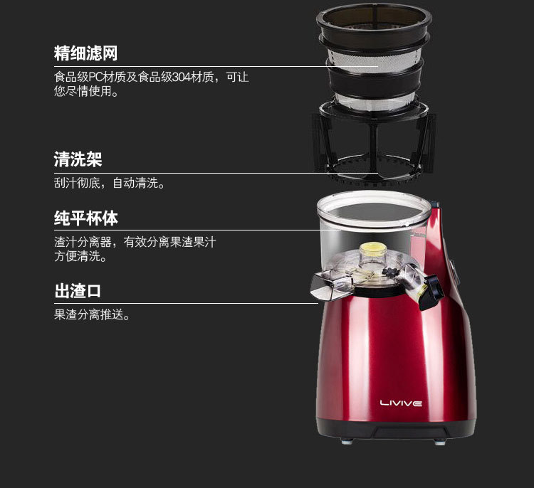 Ranbem Slow Juicer Review : IMPORTED Ranbem Multi-Functional Electric Fruit Mixer / Slow Juicer Extractor Machine 11street ...