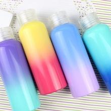 夏季 35087麦和文具批发 新款彩虹天堂玻璃小拎杯 水杯