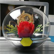 供應亞克力球 圓球 制作有機玻璃半圓球 裝飾球亞克力圣誕球