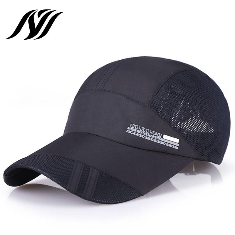 帽子 夏天 男士韩版户外 运动速干遮阳防晒棒球网帽厂家批发定制