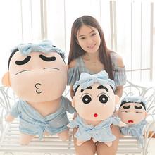 蜡笔小新龙猫公仔玩偶创意娃娃抱枕毛绒玩具婚庆活动生日礼品批发