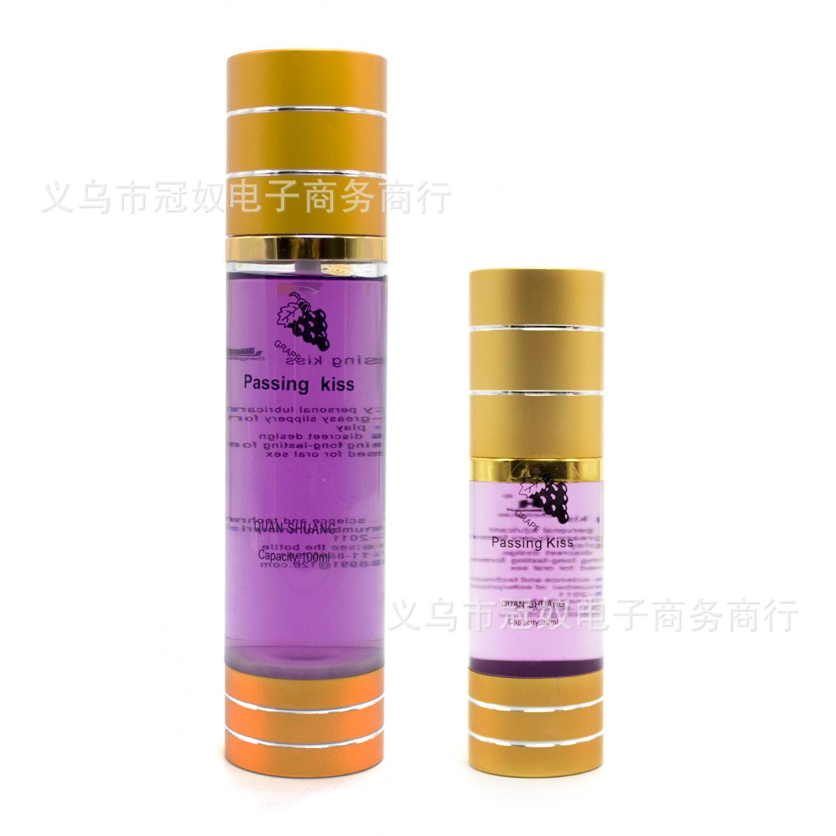 成人情趣用品 可食用人体润滑液水溶性润滑油100ML润滑剂水果味